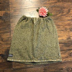 Woolrich Wool Blend Thyme Skirt 9101